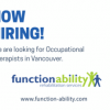 Now Hiring Occupational Therapists in Vancouver